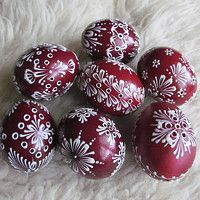 Hledání zboží: velikonoční vajíčka / Zboží | Fler.cz Egg Art, Egg Decorating, Gourds, Holiday Decor, Holiday Ideas, Easter Eggs, Christmas Bulbs, Spring, Painting