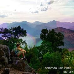 My daughter, Colorado June 2015