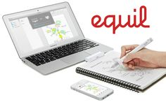 Equil Smartpen 2: Real ink. Real paper. Digitized. | Indiegogo - This pen actually has storage so you can upload your notes/sketches later.