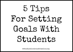 Awesome post for teachers. 5 Tips For Setting Goals With Students setting goals, goal setting Classroom Behavior, Classroom Management, Behaviour Management, Classroom Ideas, Teaching Tools, Teaching Resources, Character Education, Art Education, Goal Setting For Students