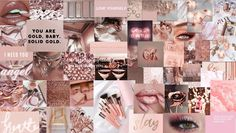 rose gold pink aesthetic laptop wallpaper