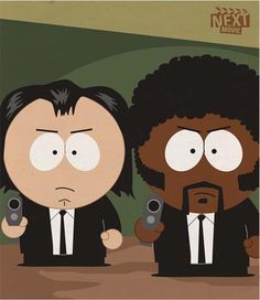 Lo mejor!!! Pulp Fiction in South Park