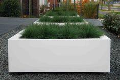 Van Veen Tuinontwerpen Hoorn   Voortuin plantenbak