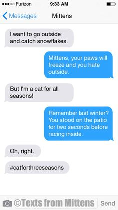 NEW Daily Mittens: The Snowflakes Edition More Mittens: http://textsfrommittens.com/ Order Mittens' book: http://amzn.to/1BVvMmB