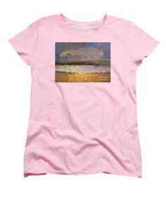 Women's T-Shirt (Standard Cut) - Abstract Landscape 1524