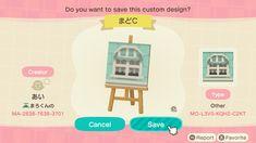 Animal Crossing Characters, Animal Crossing Game, Pastel Blue, Custom Design, Coding, Fan Art, Island, Qr Codes, Kids