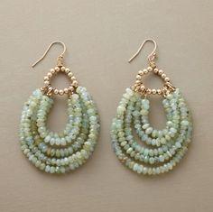 Jewerly Diy Earrings Handmade For 2019 Rustic Jewelry, Stone Jewelry, Wire Jewelry, Jewelry Crafts, Beaded Jewelry, Unique Jewelry, Jewelery, Handmade Jewelry, Jewelry Design