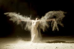 "Nothing like the beauty of HUMAN NATURE from Ludovic Florent's series ""Poussières d'étoiles"" (Stardust)."