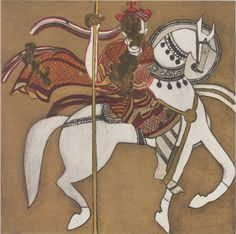 Warrior saint, Abd el-Qadir (13th century).