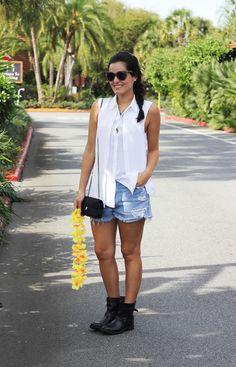 blog.da.mariah.look.do.dia.disney.9 Disney Parque, Celebs, Celebrities, New Look, Ideias Fashion, Spring Summer, Shirt Dress, Denim, Cute
