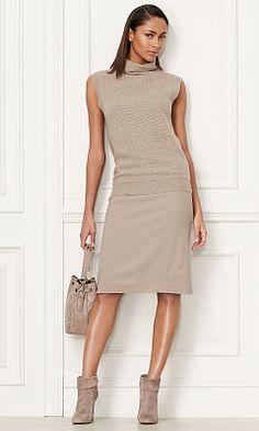 Stretchrock Cindy aus Wolle - Collection Apparel Röcke - Ralph Lauren…