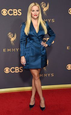 Reese Witherspoon from 2017 Emmys Red Carpet Arrivals