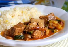 Pork, Cooking Recipes, Beef, Chicken, Ethnic Recipes, Kale Stir Fry, Meat, Chef Recipes