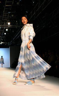 Korean catwalk fashion at Johnny Hates Jazz SS13.