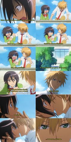 episode 6? if not mistaken >< Usui and Misa ♡♡♡ Love these scenes hahaa ♡  #KaichouWaMaid-sama