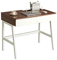 Home Office Retro Style Computer, Laptop and Writing Desk with Drawers, Book Storage & Cable Management - Piranha Phantom PC Office Desk, Home Office, Writing Desk With Drawers, Best Desk, Home Desk, Book Storage, Cable Management, Retro Design, Retro Fashion