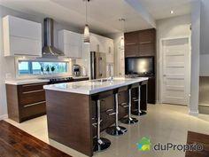 -Finition haut de gamme -Foyer au gaz -Plafonds 9 pieds -Cuisine au prix Nobilis en 2009, comptoirs en...
