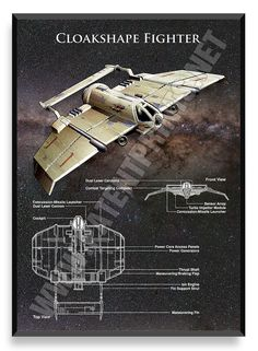 Cloakshape Fighter, Star Wars Poster