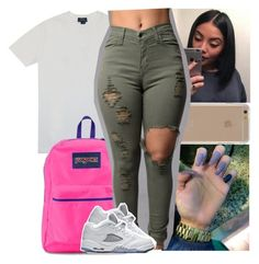 """"""": Thursdays"""" by theyknowtyy ❤ liked on Polyvore featuring Polo Ralph Lauren, JanSport and Agent 18"""