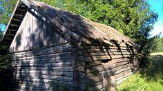 Old barn ,vanha lato