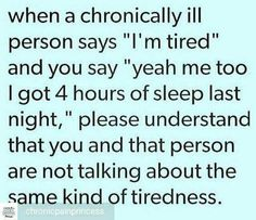 I can't even describe it. It is soul crushing, not sure if I can function, hell. But like so many other chronic pain/illness sufferers, I have insomnia as well.