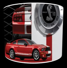 Hows about a Ford Mustang Shelby GT500 Lamp Shades