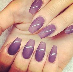 ✝ Coffin Nails Ombre, Cuffin Nails, Nail Nail, Nails 2016, Acrylic Nails Coffin Classy, Get Nails, Stiletto Nails, Fancy Nails, Love Nails