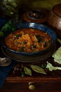 zupa zwłoskiej kapusty