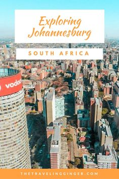 This is a guide to Johannesburg, South Africa. Travel to Johannesburg and explore the city and all the things to do in Jozi. Pin this guide to plan your trip to Johannesburg, South Africa. Africa Destinations, Travel Destinations, Travel Guides, Travel Tips, Travel Info, Budget Travel, Africa Travel, Travel Around The World, Cool Places To Visit