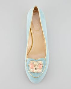 Charlotte Olympia Birthday Gemini Zodiac Smoking Slipper