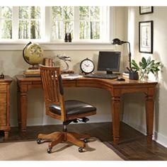 Aspen L Curved Desk