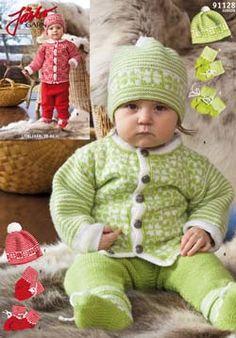 Preemie Baby knitting pattern free with 8 petal roses. Cardigan, pants, booties, mittens, hat. Sizes 38-86 cm Gauge  24 st  10 cm Needles 3.5 mm pdf pattern in swedish http://media.jarbo.se/patterns/pdf/91128_low.pdf