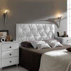 [New] The 72 Best Home Decor Ideas Today (with Pictures) - These are the 72 best home decor ideas today (with pictures). According to home decor experts,. Bed Headboard Design, Bedroom Bed Design, Headboards For Beds, Modern Bedroom, Deco Furniture, Furniture Design, Bed Back Design, Home Decor Bedding, Luxurious Bedrooms
