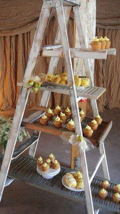 30 Rustic-Inspired Food Display Ideas With Tastiest Desserts | Weddingomania - Weddbook