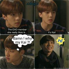 A jealous Kyungsoo becomes a dangerous Kyungsoo