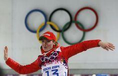 CREDIT: REUTERS/STEFAN WERMUTH ▼14Feb Reuters|Domracheva doubles up with 15km gold http://www.reuters.com/article/2014/02/14/us-olympics-biathlon-individual-idUSBREA1D1C620140214 #sochi2014 #biathlon #Domracheva #Belarus