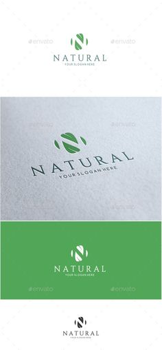 Natural Letter N Logo   - Nature Logo Templates Download here : http://graphicriver.net/item/-natural-letter-n-logo-/15890915?s_rank=72&ref=Al-fatih