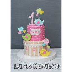 Ece nur'un 1 yaş pastası, hastasıyız ✌ Nice mutlu yaşlara