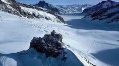 Paisajes de hielo y nieve amenazados por el aumento de las temperaturas, aunque aún lucen todo su esplendor