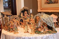 Another wonderful Nativity Scene pinned by @Laura Jayson Folkman !