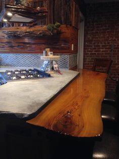 Cypress bar with seating for 4