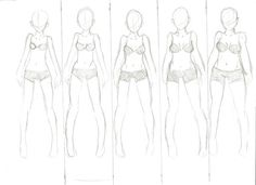 diffrent body shapes