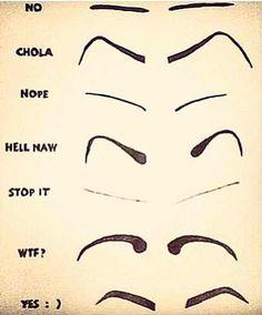 Eyebrow tutorial :)