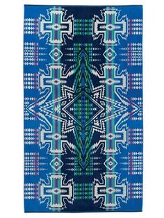 Pendleton North Star Spa Towel - Liz Ann's Interior Design Boutique.  Click here to purchase http://lizann.myshopify.com/collections/bath-1/products/pendleton-north-star-spa-towel