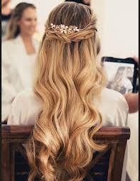 """Résultat de recherche d'images pour """"coiffure de mariée cheveux détachés"""""""