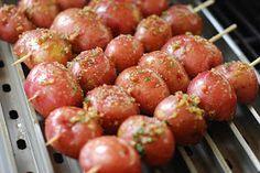 Nibble Me This: Grilled Potatoes
