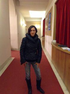 """#parlailpubblico #TeatriDICivitanova """"Seguo il #teatro perché è una forma d'arte che mi emoziona molto"""" (Marta,Civitanova Marche) 4aprile2014"""