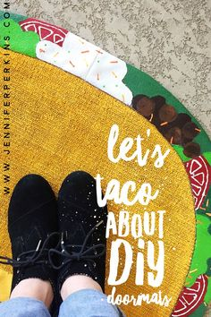 DIY Taco Doormat by