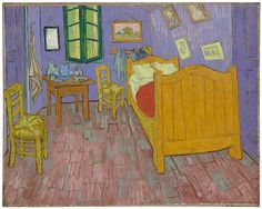 A technique called x-ray fluorescence has allowed a glimpse of the original hues of two versions of Van Gogh's room in Arles that he painted in the 1880s