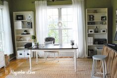 11 Magnolia Lane: Amy's New Home Office Reveal